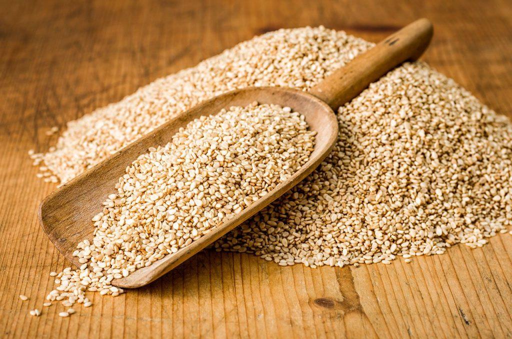 A loucura das sementes de sésamo